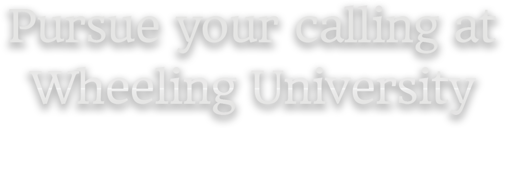Pursue your calling at